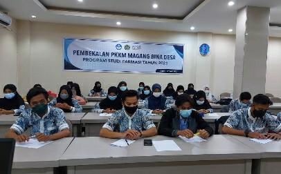 Mahasiswa unham ikuti pembekalan PKKM