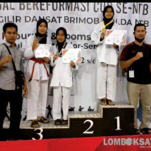 Tiga siswa Man 1 meraih medali pada kejuaraan taekwondo provinsi