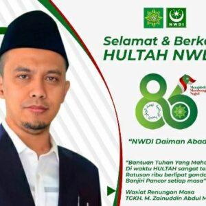Ust HM Jamaluddin Penanggung Jawab Hultah