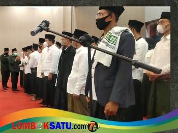 Suasana Muskercab ISNU Lombok Tengah yang dihadiri Bupati Loteng