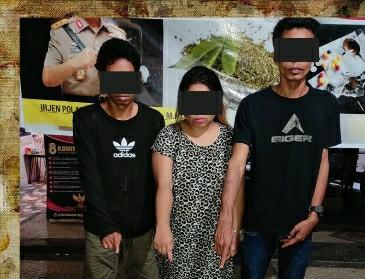 Tiga tersangka narkoba diringkus tim Polda NTB di wilayah Lombok Timur