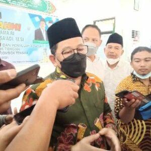 Wamenag RI tegaskan Arab Saudi akan buka pelaksanaan umroh saat berkunjung ke Kemenag Lombok Tengah