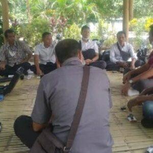 Jajaran Direksi PDAM Loteng saat turun bersama pemerintah desa ke WTP Penujak