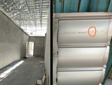 Bahan-bahan pembangunan gedung Mapolres Loteng