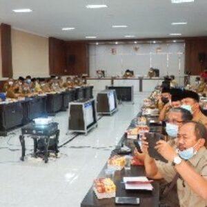 Pemkab Lombok Timur menggelar rapat evaluasi pelaksanaan APBD triwulan ketiga