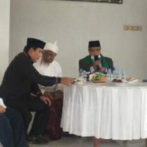 HL. Pathul Bahri dan para tokoh di Lombok Tengah saat menerima kunjungan Ketua PBNU, KH.Said Aqiel Siradj